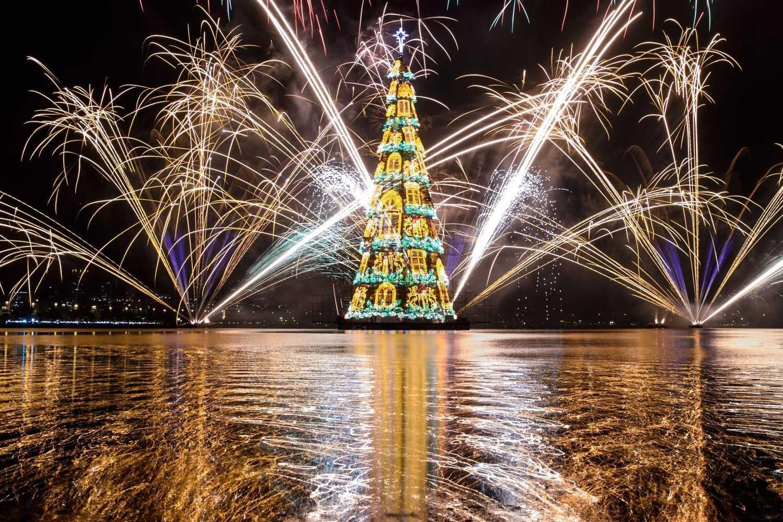 Рождественская елка. РИо-де-Жанейро