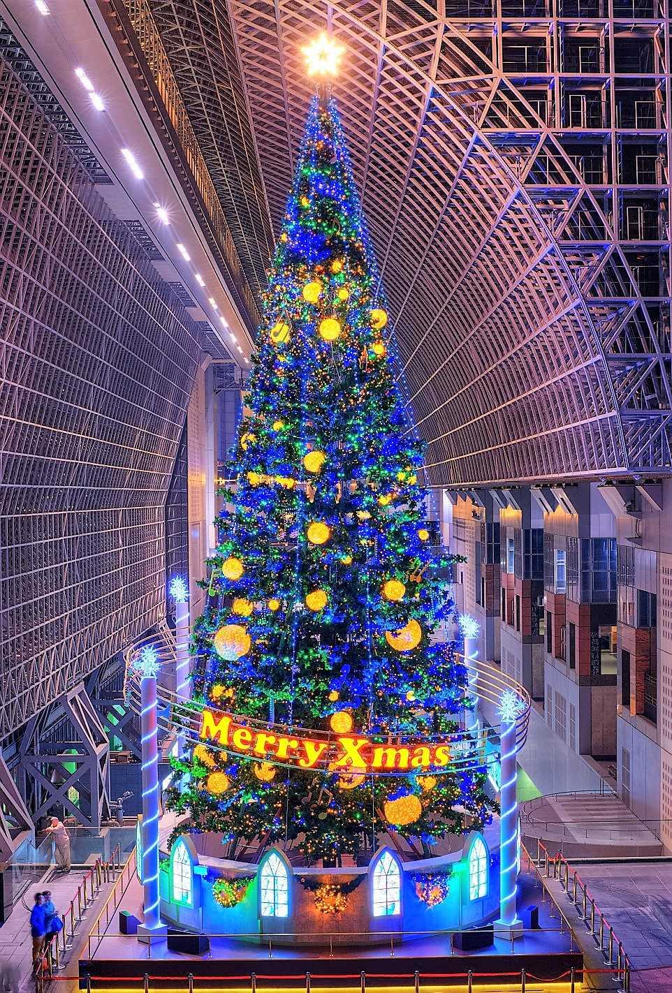 Рождественская елка. Киото