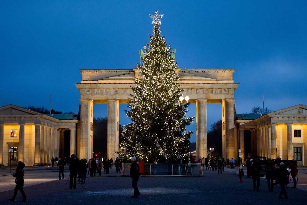 Рождественская елка. Берлин