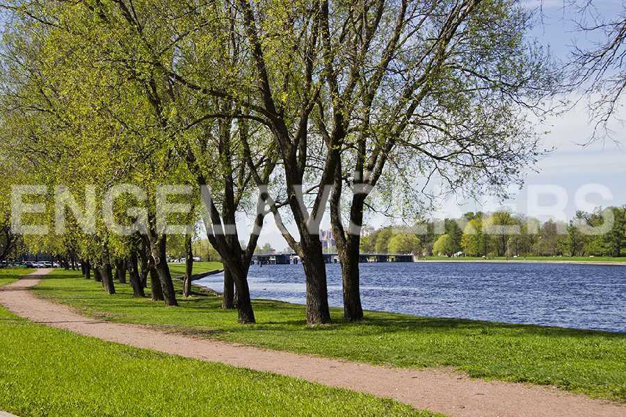Набережная реки Средней Невки