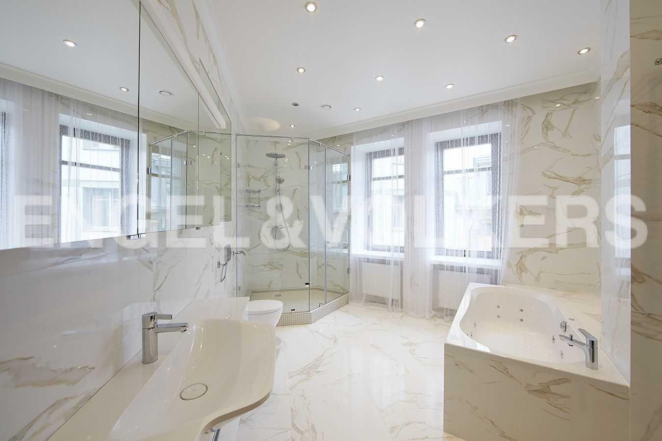 Элитные квартиры на . Санкт-Петербург, 2-ая Березовая аллея, 13-15. Ванная комната