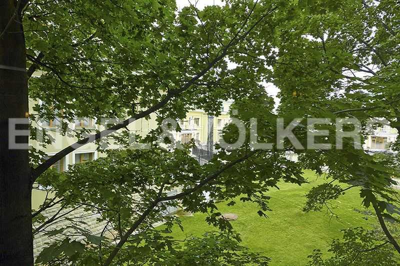Элитные квартиры на . Санкт-Петербург, 2-ая Березовая аллея, 13-15. Вид из окна