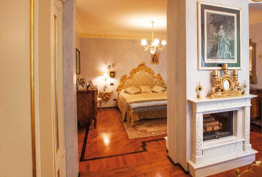Магический Капри - стиль оформления спальни