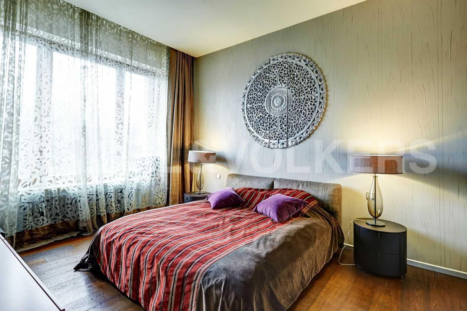 Элитные квартиры на . Санкт-Петербург, наб. Мартынова, 74. Спальня