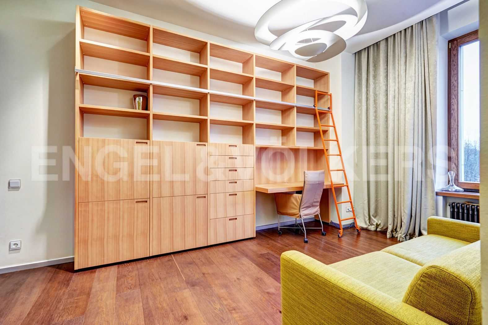 Элитные квартиры на . Санкт-Петербург, наб. Мартынова, 74. Вторая спальня