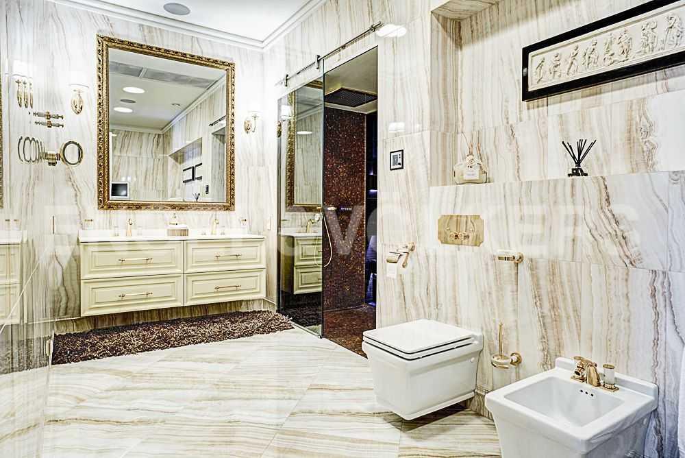 Элитные квартиры на . Санкт-Петербург, Крестовский пр., 12. Ванная комната