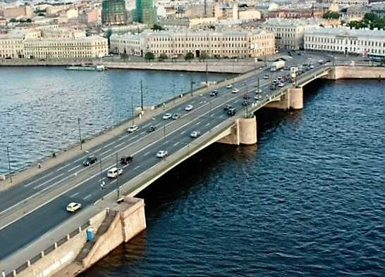 Тучков мост закрыт до 2018 года