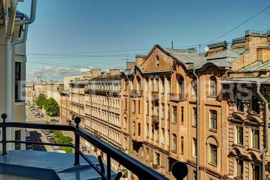 Элитные квартиры в Центральном районе. Санкт-Петербург, 4-я Советская ул, 9 . Перспектива 4-й Советской ул.