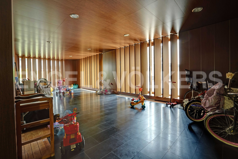 Элитные квартиры на . Санкт-Петербург, наб. Мартынова, 74. Помещение для хранение колясок и велосипедов