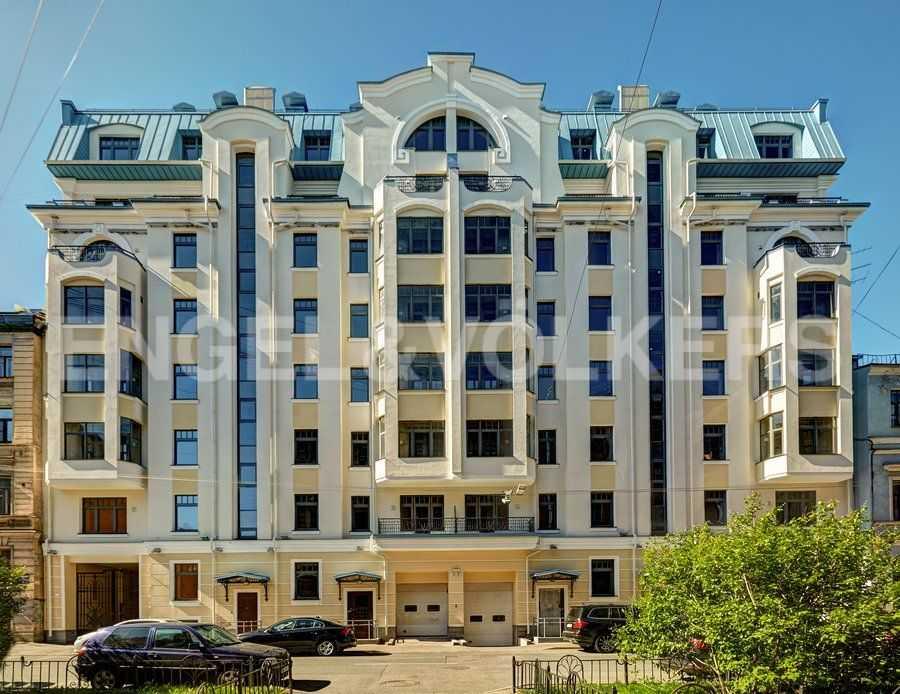 Элитные квартиры в Центральный р-н. Санкт-Петербург, 4-я Советская ул, 9. Фасад дома со стороны 4-й Советской ул.