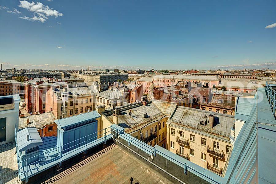 Элитные квартиры в Центральном районе. Санкт-Петербург, 4-я Советская ул, 9 . Панорамные виды из окон
