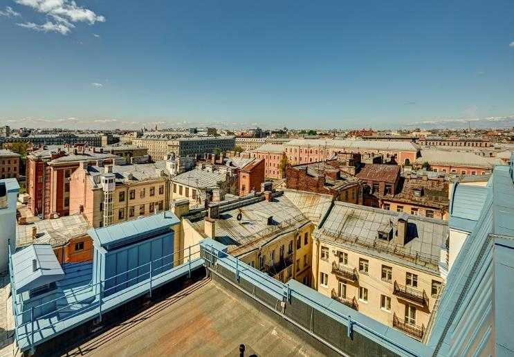 Вид на город Санкт-Петербург