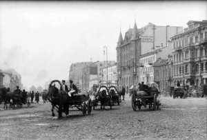 Историческая улица в Питере