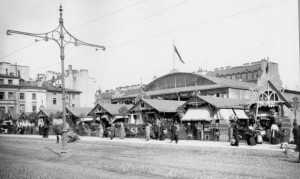 Первое здание Мальцевского рынка