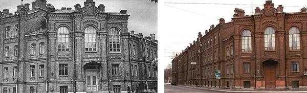 исторический комплекс Детской больницы - Больница им Раухфуса