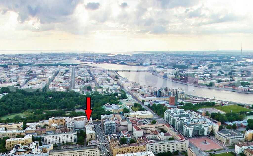 Элитные квартиры в Центральный р-н. Санкт-Петербург, Тверская ул., 1A . Месторасположение