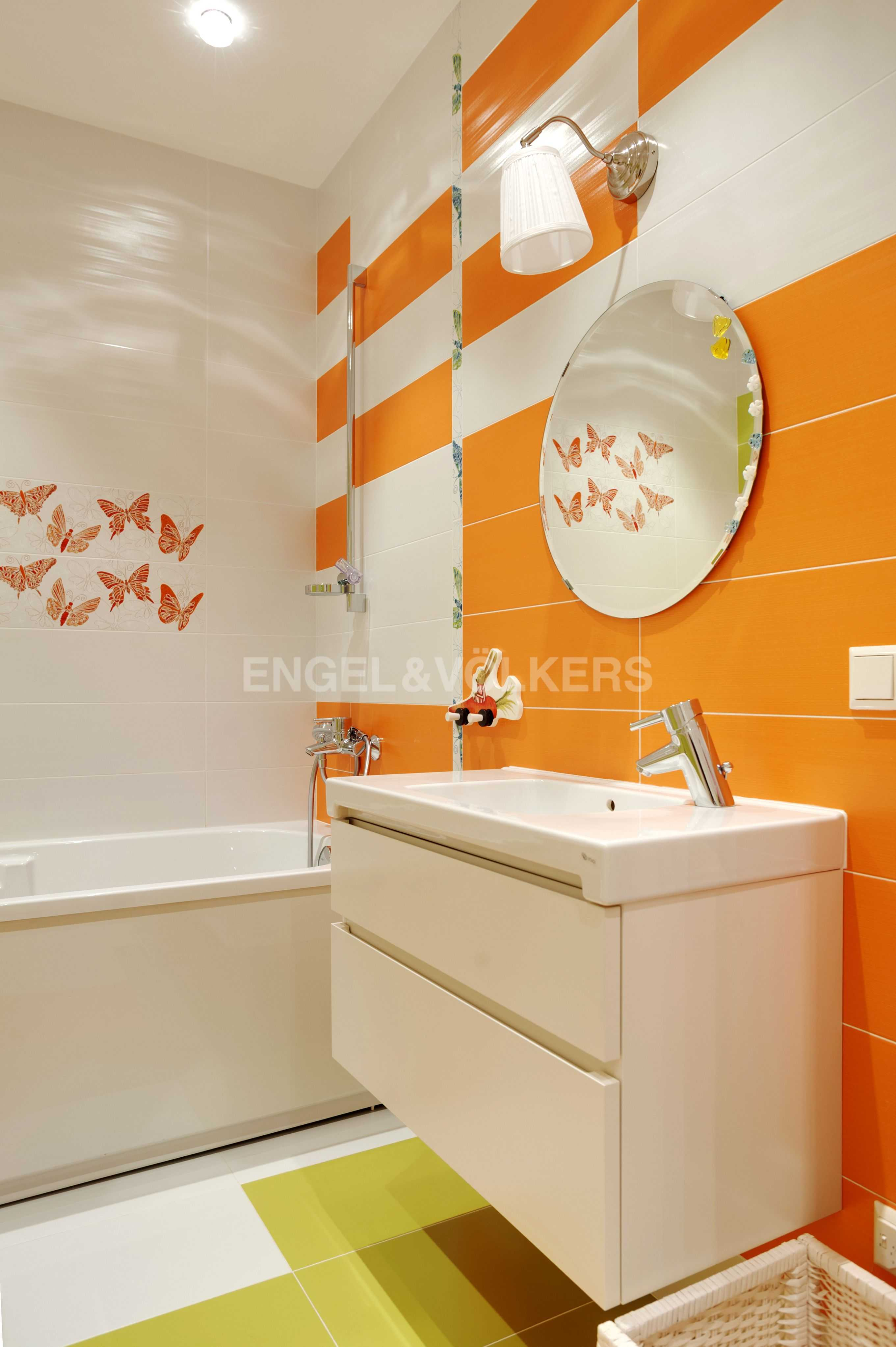 Элитные квартиры в Центральный р-н. Санкт-Петербург, Тверская ул., 1A . Ванная комната