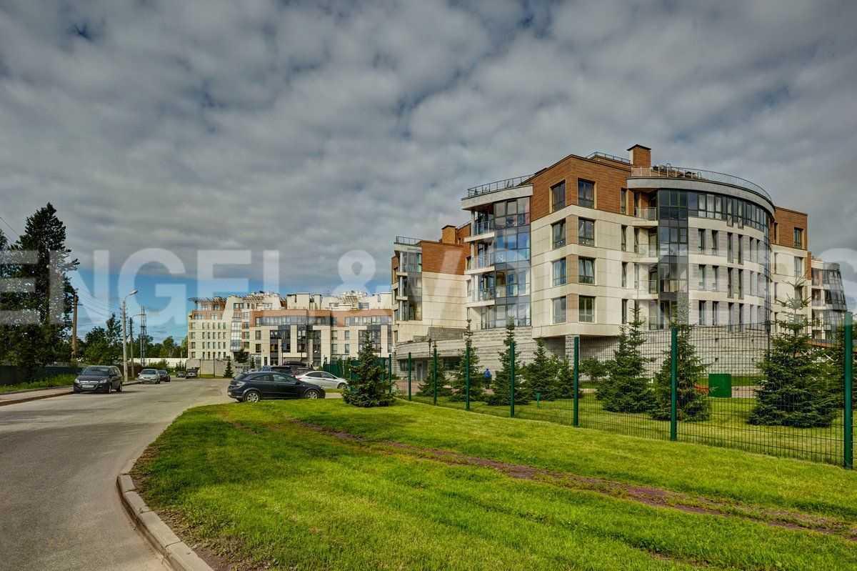 Элитные квартиры в . , Сестрорецк, ул.Первого Мая, д. 3а. Прилегающая территория