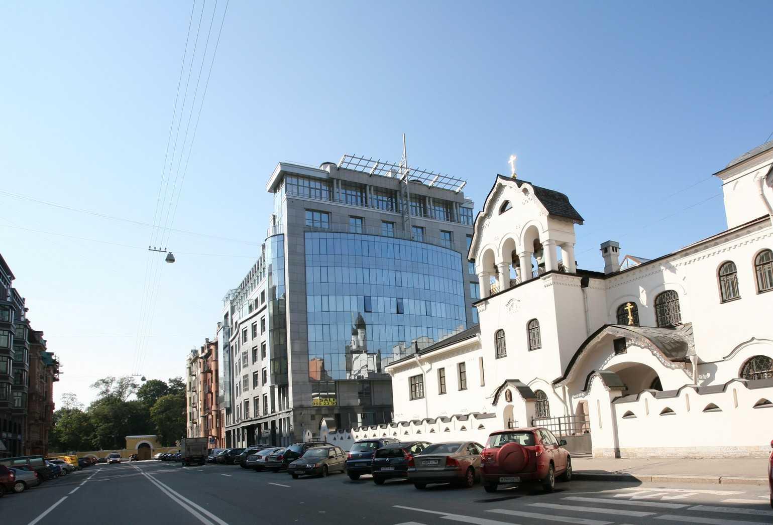 Элитные квартиры в Центральный р-н. Санкт-Петербург, Тверская ул., 1A . Тверская улица с перспективой Таврического сада