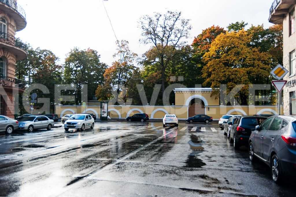 Тверская улица и Таврический сад