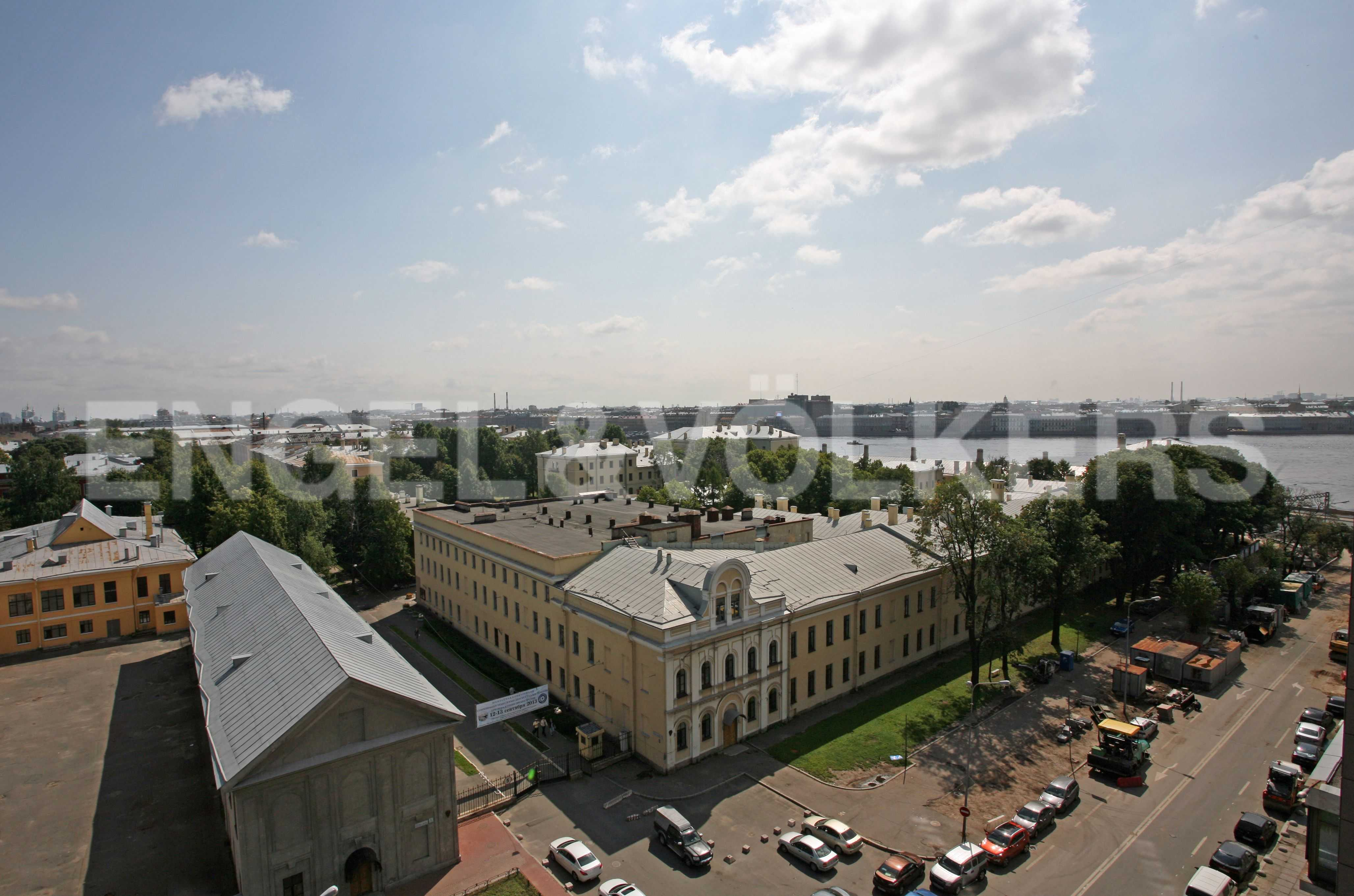 Элитные квартиры в Центральном районе. Санкт-Петербург, Большой Сампсониевский пр., 4-6. Вид из окна