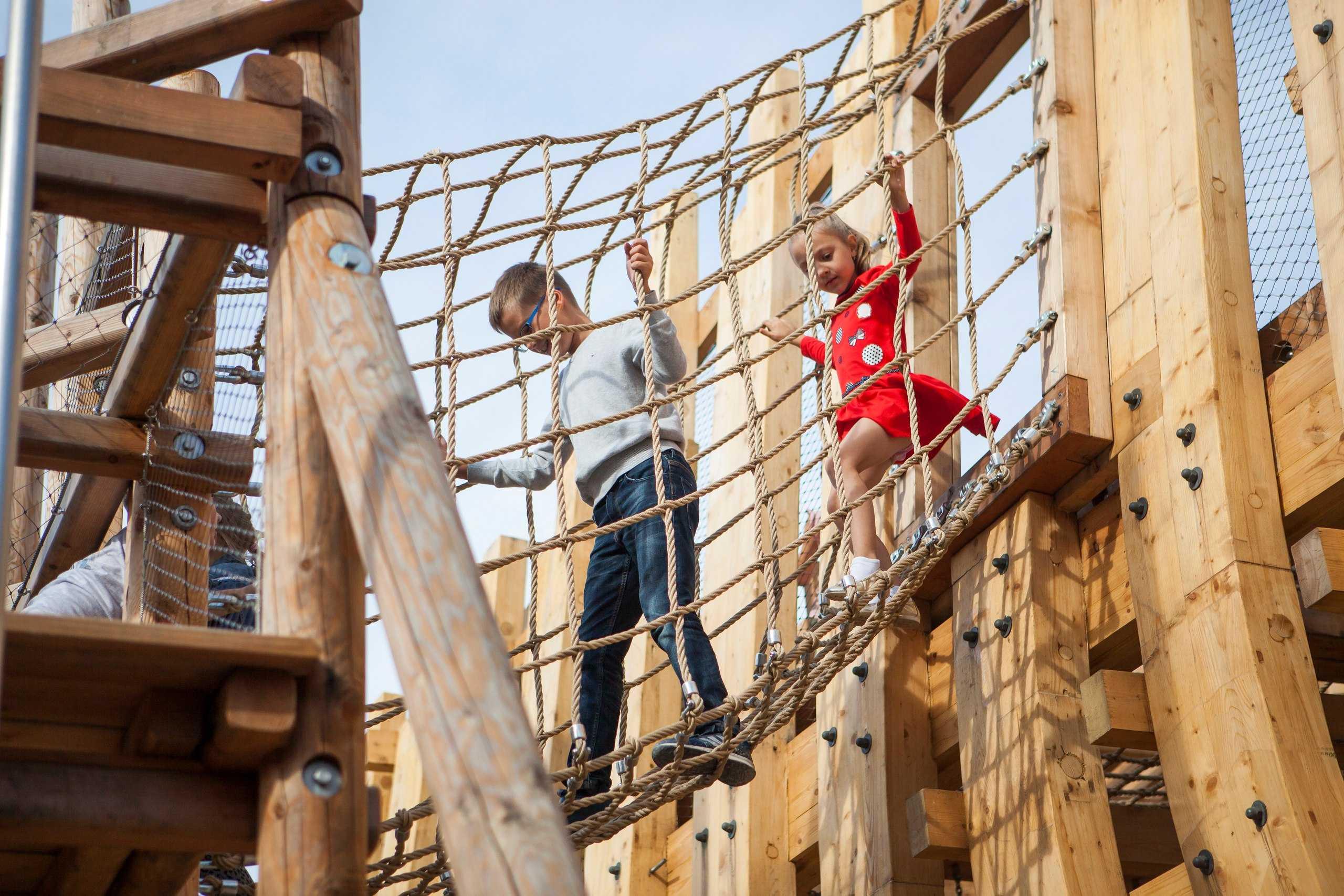Открытие комплекса Новая Голландия- детский городок