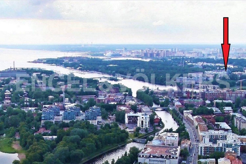 Элитные квартиры на . Санкт-Петербург, Морской проспект, дом 28. Местоположение