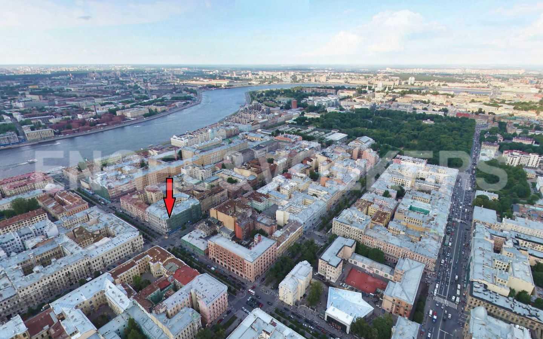 Элитные квартиры в Центральном районе. Санкт-Петербург, Захарьевская, 16. Месторасположение