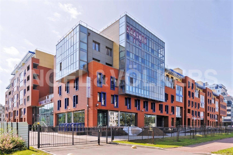 Элитные квартиры на . Санкт-Петербург, Морской проспект, дом 28. Фасад
