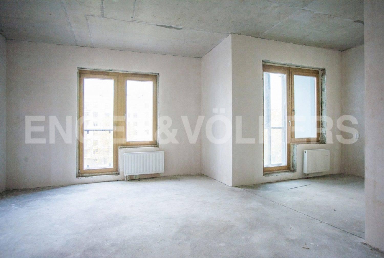 Элитные квартиры на . Санкт-Петербург, Морской проспект, дом 28. Отделка под чистовую, восточная сторона