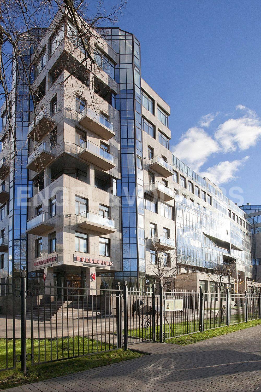 Элитные квартиры на . Санкт-Петербург, Кемская, 1. Вид дома со стороны ул. Рюхина