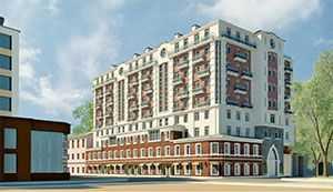 Дом на Ждановке введён в эксплуатацию