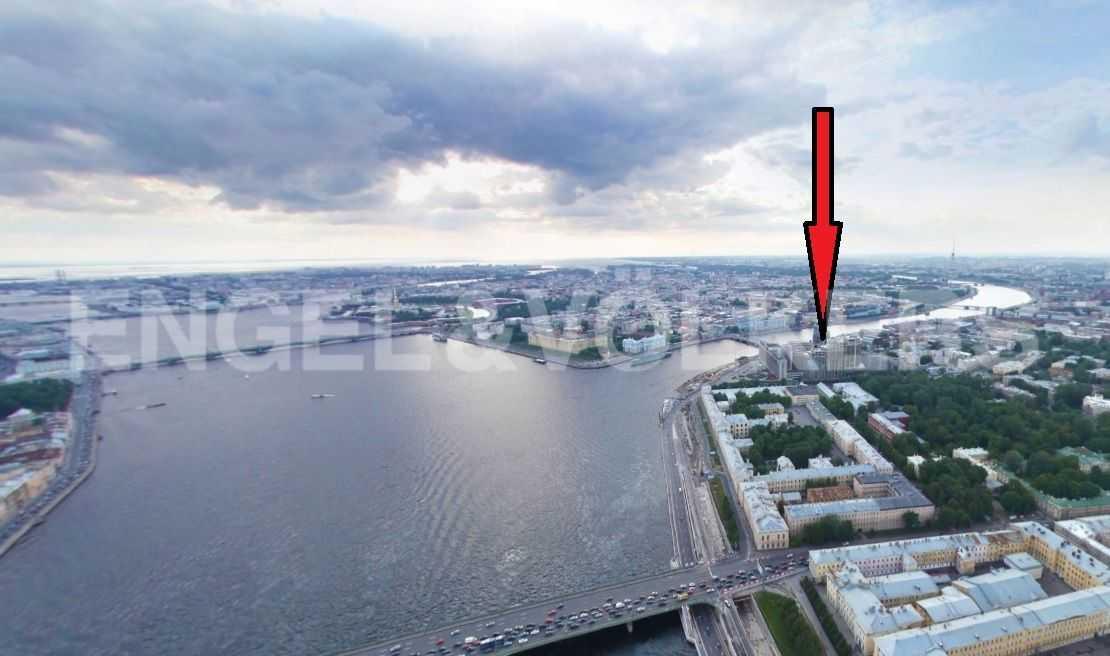 Элитные квартиры в Центральном районе. Санкт-Петербург, Большой Сампсониевский пр-т, 4. Месторасположение