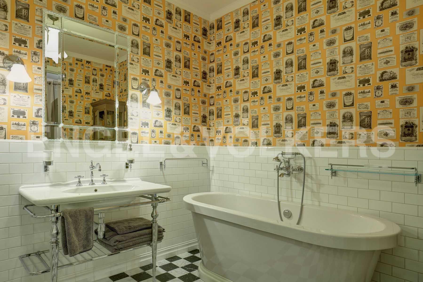 Элитные квартиры на . Санкт-Петербург, Динамо,12. Ванная рядом со спальней