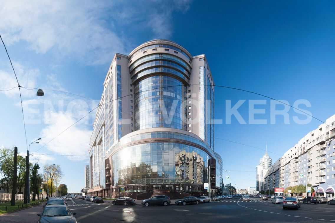 Элитные квартиры в Центральном районе. Санкт-Петербург, Большой Сампсониевский пр-т, 4. Фасад дома