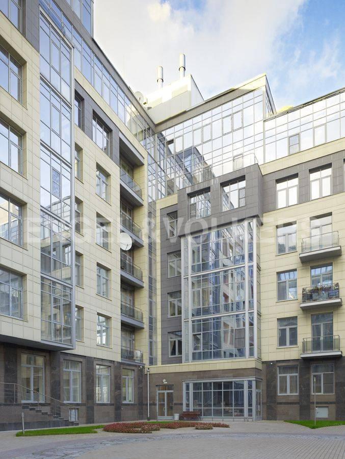 Элитные квартиры на . Санкт-Петербург, ул. Вязовая, 10. Фасад дома