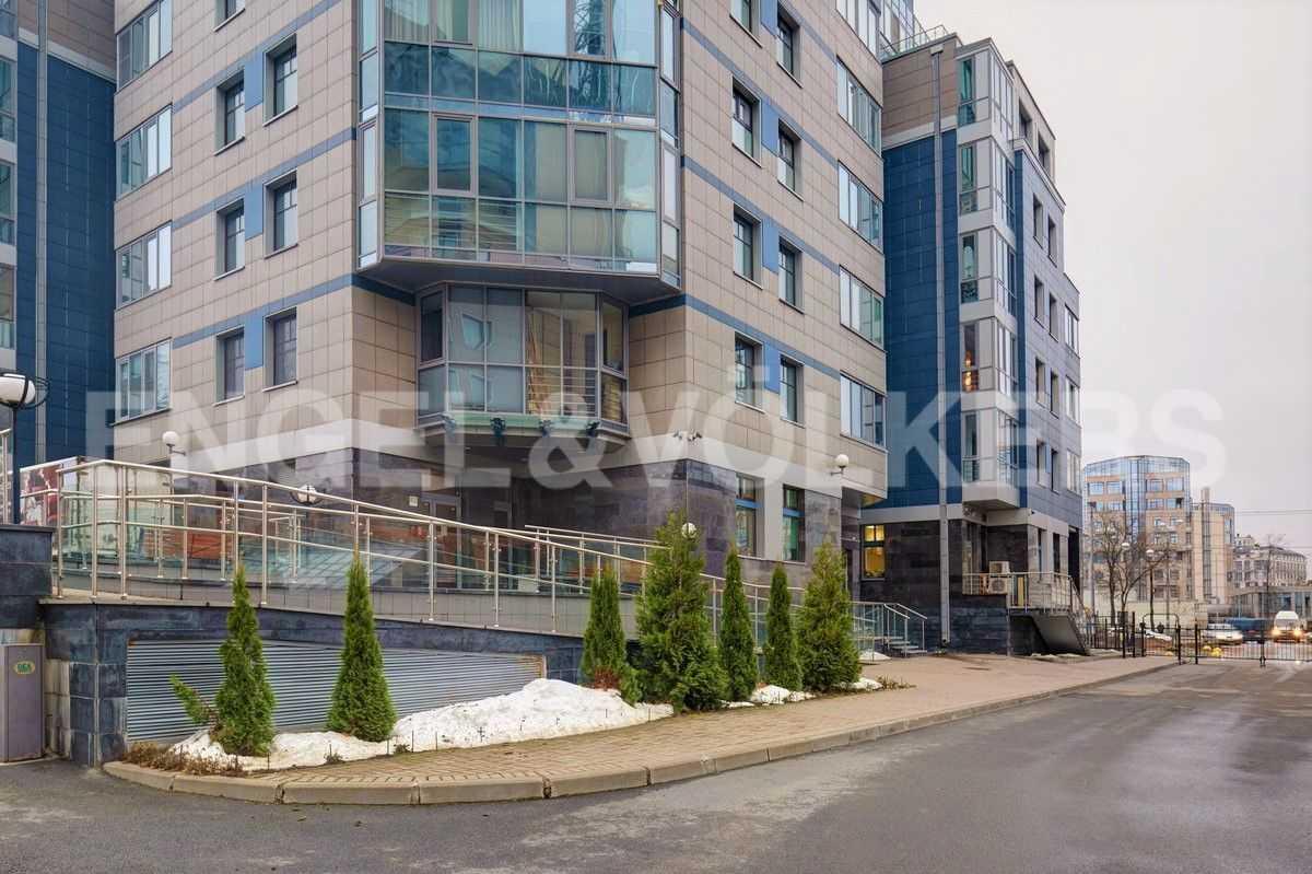 Элитные квартиры на . Санкт-Петербург, ул. Рюхина, д.10. Фасад дома
