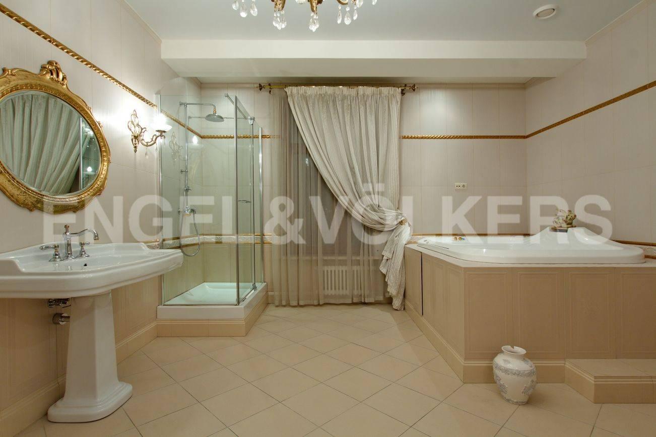 Элитные квартиры на . Санкт-Петербург, ул. Вязовая, 10. Ванная комната