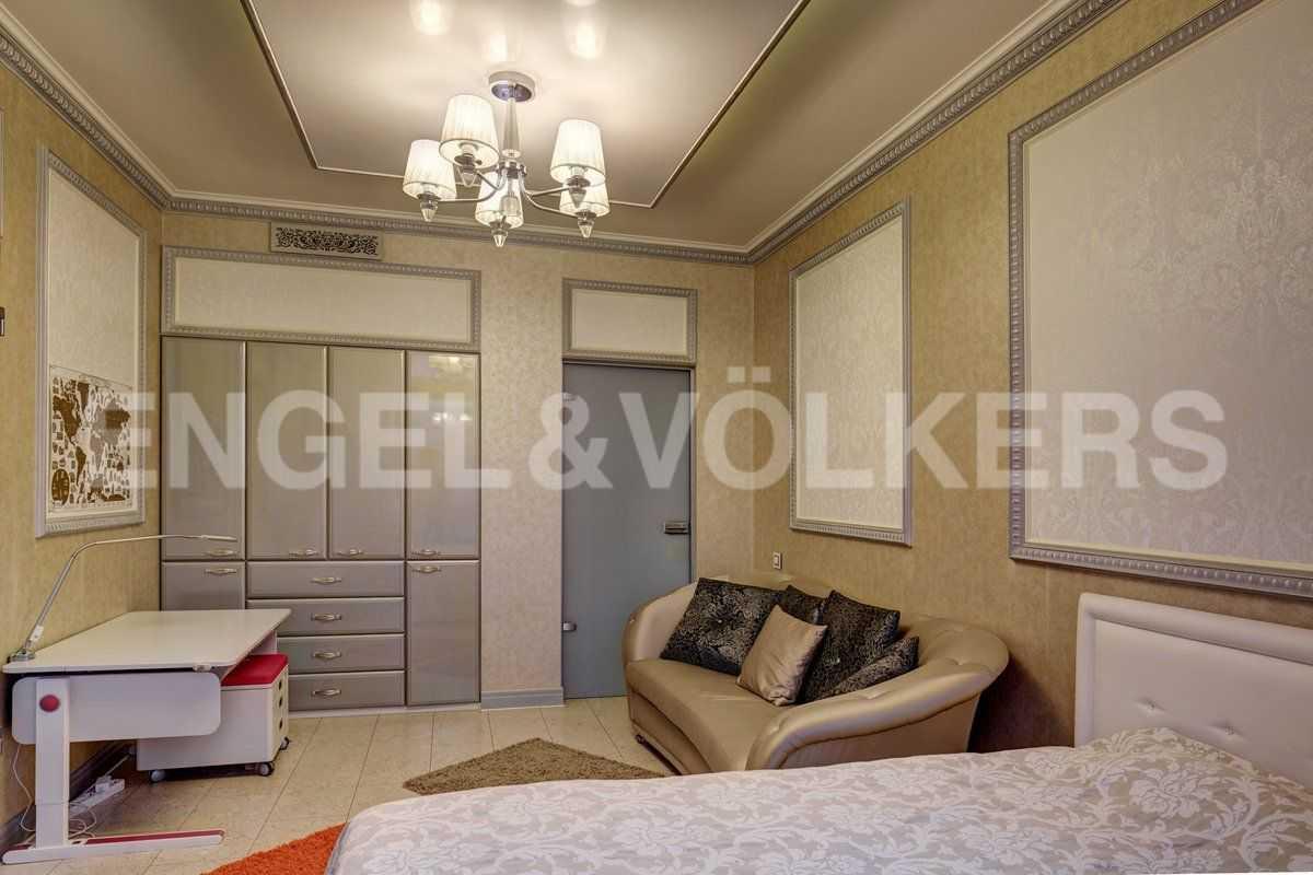 Элитные квартиры на . Санкт-Петербург, ул. Рюхина, д.10. Детская спальня