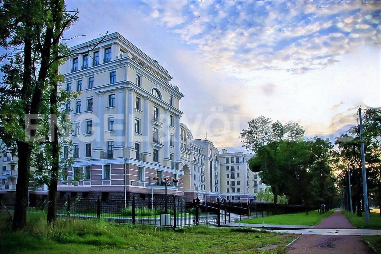 Элитные квартиры на . Санкт-Петербург, Морской проспект, 24.