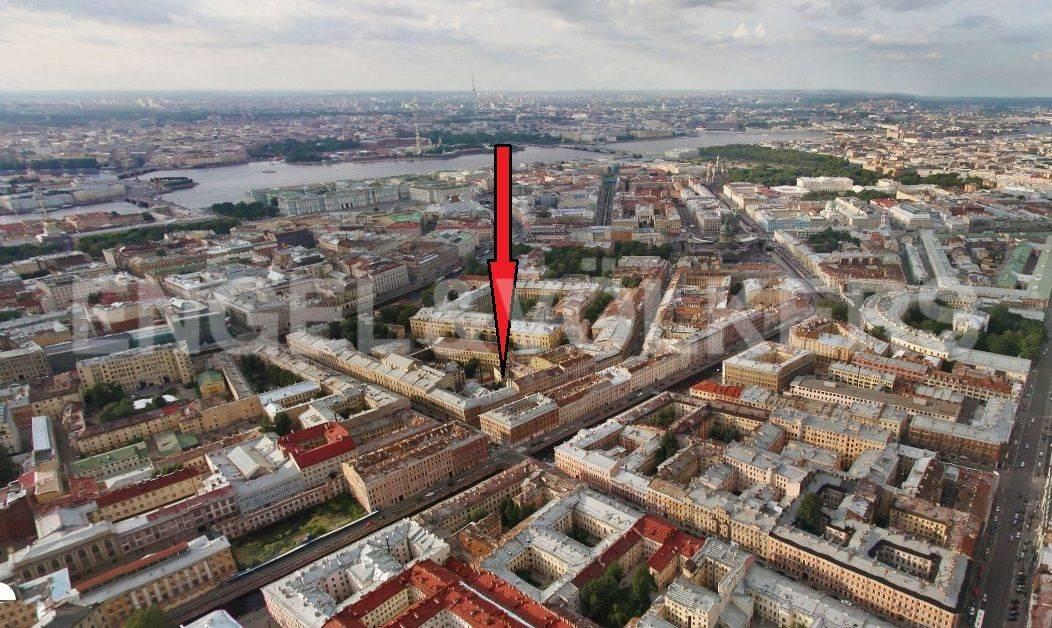 Элитные квартиры в Центральном районе. Санкт-Петербург, Казанская, 15. Месторасположение