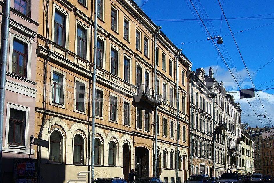Элитные квартиры в Центральном районе. Санкт-Петербург, Казанская, 15. Фасад дома