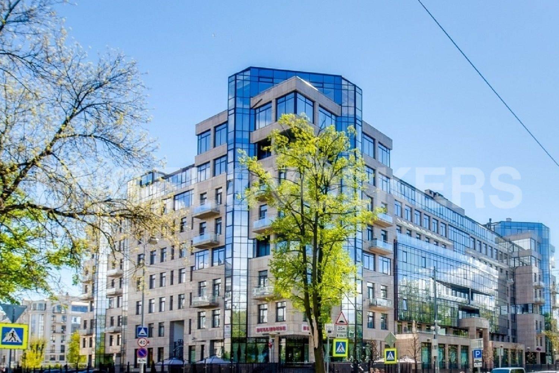 Элитные квартиры на . Санкт-Петербург, Кемская, 1. Фасад