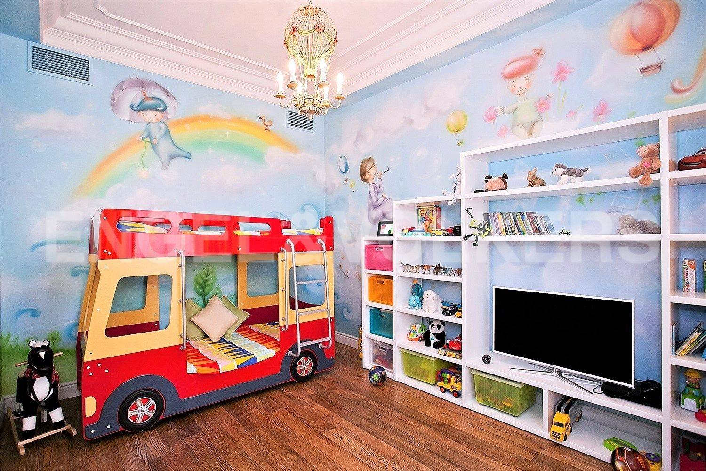Элитные квартиры на . Санкт-Петербург, Кемская, 1. Детская комната