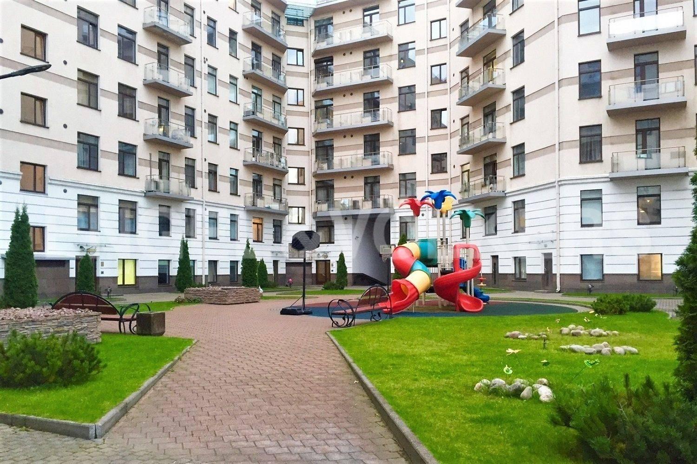 Элитные квартиры на . Санкт-Петербург, Кемская, 1. Детская площадка