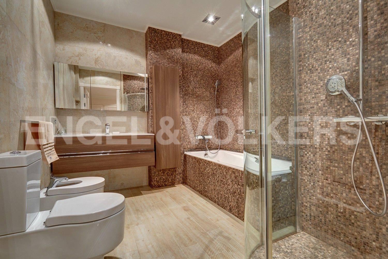 Элитные квартиры в Центральном районе. Санкт-Петербург, Конногвардейский бульвар, 13. Ванная комната