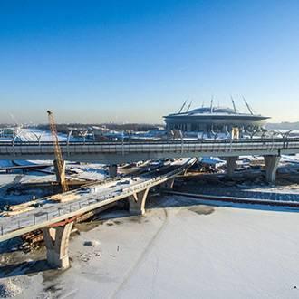 Яхтенный мост готов на 85%!