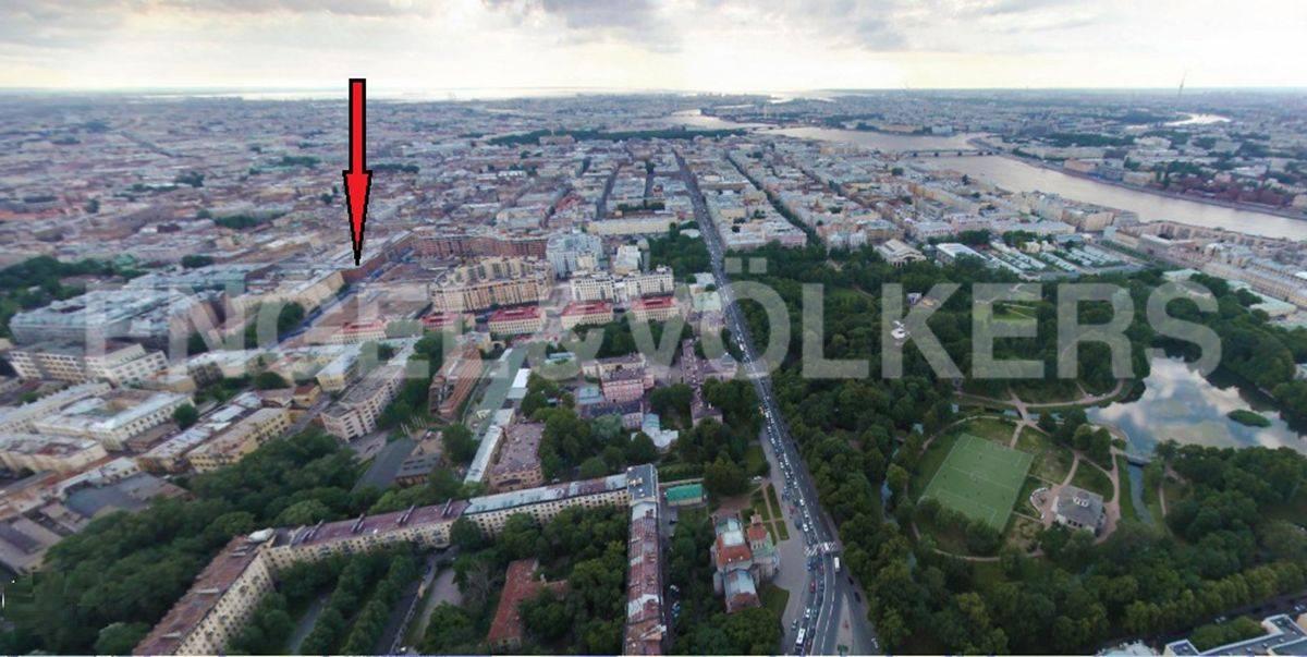 Элитные квартиры в Центральном районе. Санкт-Петербург, Виленский пер., 15. Месторасположение