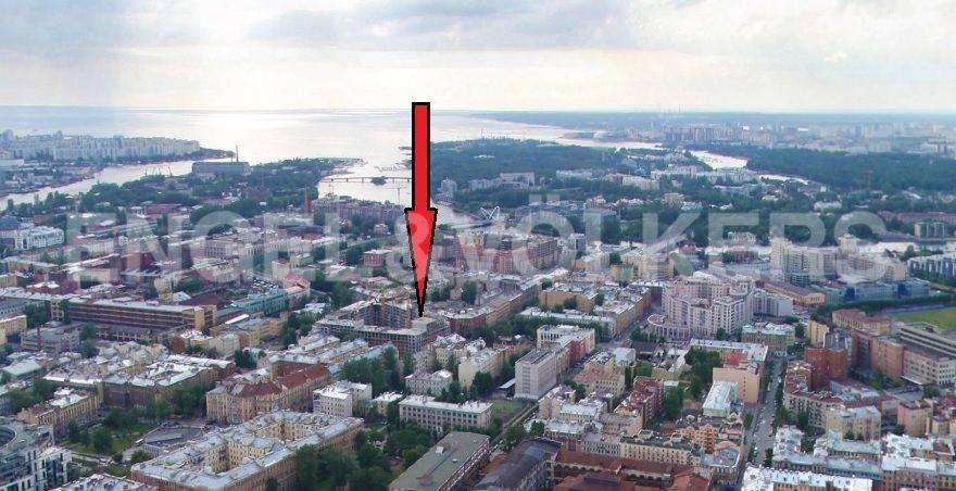 Элитные квартиры в Петроградском районе. Санкт-Петербург, Корпусная улица, 9. Месторасположение