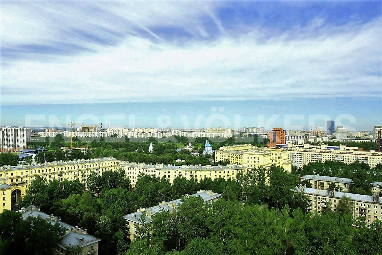 Вид из окна на парк Городов-Героев